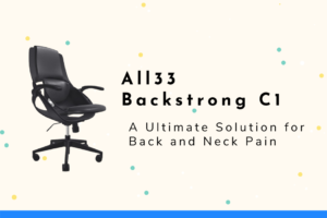 All33 Backstrong C1 - Chair for neck and pain
