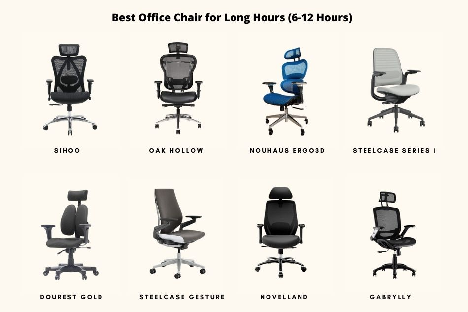 Best office chairs for long hours