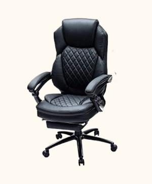 Kasorix Executive Chair with Footrest