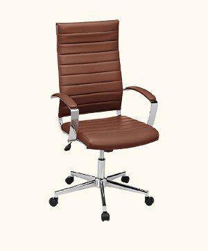 AmazonBasics High-Back Executive Office Desk Chair