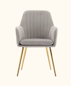 Artechworks Velvet Modern Guest Chair