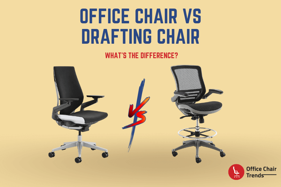 Office Chair vs Drafting Chair What's The Difference