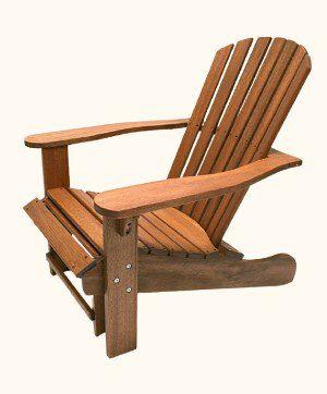 Eucalyptus Wood Adirondack Chair