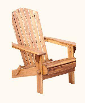 Teak Wood Adirondack Chair